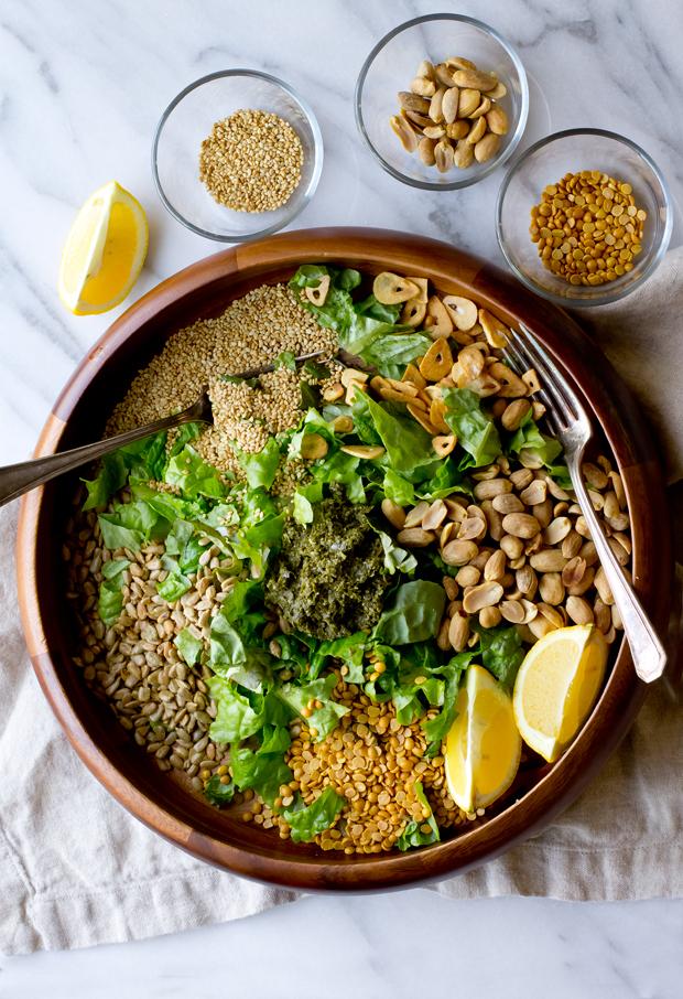 Burmese Tea Leaf Salad The Gourmet Gourmand